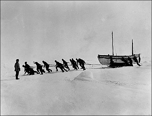 De zware overlevingstocht van Ernest Shackleton en zijn expeditie na het zinken van de Endurance